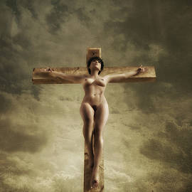 Ramon Martinez - 3D Sky Crucifix