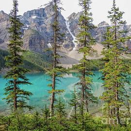 Wonderful Lake Moraine by Patricia Hofmeester