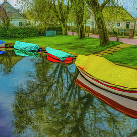 Paul Wear - 4 Boats Broek in Waterland