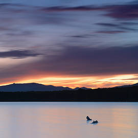 Guido Montanes Castillo - Calm sunset At the lake