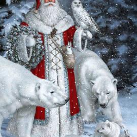Christmas Santa  by Viktoriya Sirris