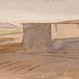 Dendera - Edward Lear