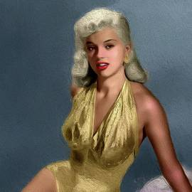 Diana Dors, Vintage Movie Star - John Springfield