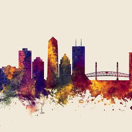 Michael Tompsett - Jacksonville Florida Skyline