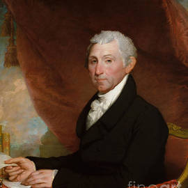 James Monroe - Gilbert Stuart