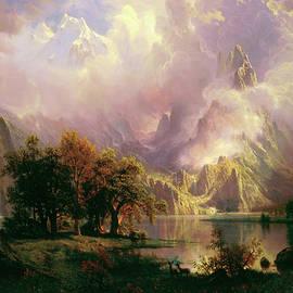 Rocky Mountain Landscape - Albert Bierstadt