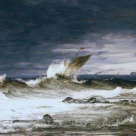 Peder Balke - Seascape