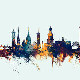 Shrewsbury England Skyline - Michael Tompsett