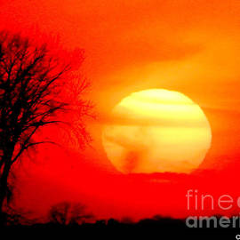 Sunset in Wilkin County by Curtis Tilleraas