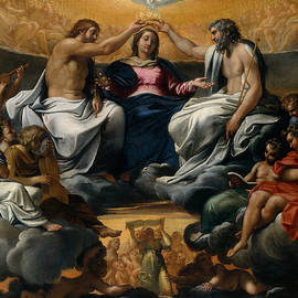 The Coronation of the Virgin - Annibale Carracci