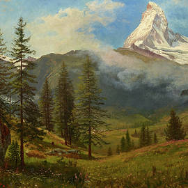 The Matterhorn - Albert Bierstadt