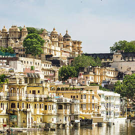 Udaipur City Palace In Rajasthan by Didier Marti
