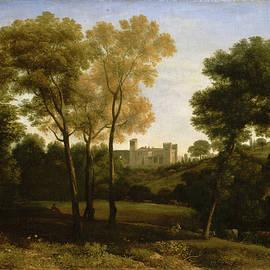 Claude Lorrain - View of La Crescenza
