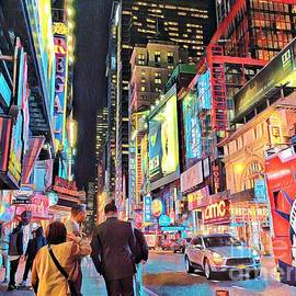 Miriam Danar - 42nd Street Theater District - New York City