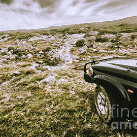 Jorgo Photography - Wall Art Gallery - 4WD on offroad track
