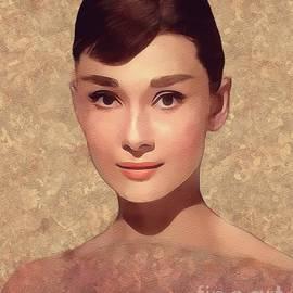 Audrey Hepburn, Vintage Movie Star - John Springfield