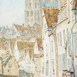 Thomas Matthews - Chartres from the Porte Guillaume