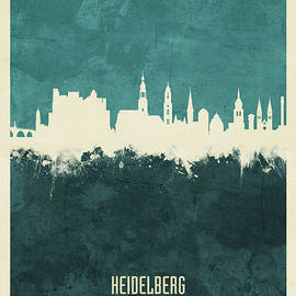 Heidelberg Germany Skyline - Michael Tompsett