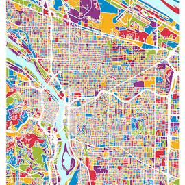 Portland Oregon City Map