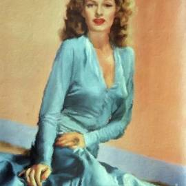 Rita Hayworth Vintage Hollywood Actress - Mary Bassett