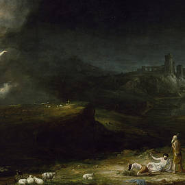 THOMAS COLE - THE ANGEL APPEARING TO THE SHEPHERDS