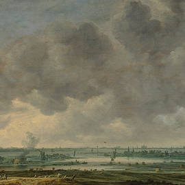 Jan van Goyen - View of Haarlem and the Haarlemmer Meer