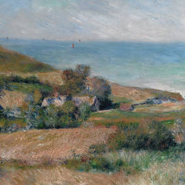 Auguste Renoir - View of the Seacoast near Wargemont in Normandy