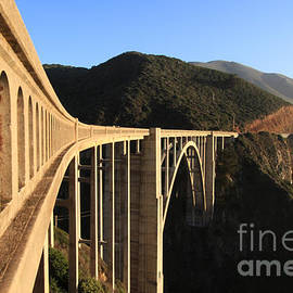 Bixby Creek Bridge Big Sur photo by Pat Hathaway in 2011 by California Views Archives Mr Pat Hathaway Archives
