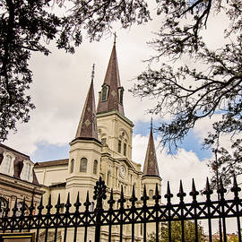 Cathedral Basilica - square by Scott Pellegrin