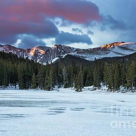 Echo Lake at Dawn - Twenty Two North Photography