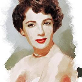 John Springfield - Elizabeth Taylor, Vintage Actress