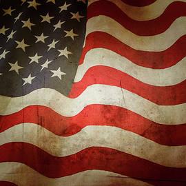 Les Cunliffe - Grunge American flag