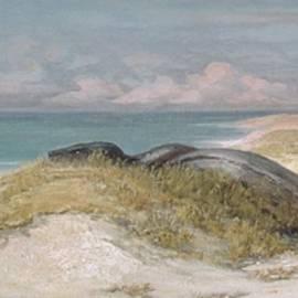 Elihu Vedder - Lair of the Sea Serpent