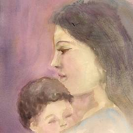 Mother And Child by Asha Sudhaker Shenoy