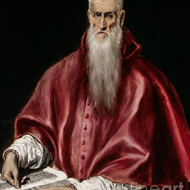 El Greco - Saint Jerome as Scholar