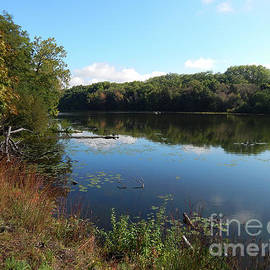 The Huron River by Phil Perkins