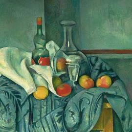 The Peppermint Bottle - Paul Cezanne