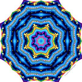 6 To 60 Kaleidoscope by Brian Gryphon