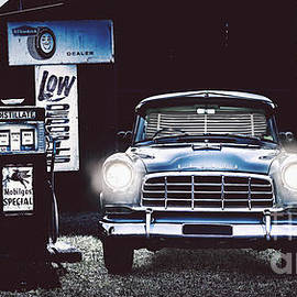 60s Australian Fc Holden Parked At Old Garage by Jorgo Photography - Wall Art Gallery