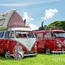 67  Split Screen Vw Campervans by Tim Gainey