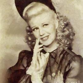 Ginger Rogers Hollywood Actress and Dancer - Mary Bassett