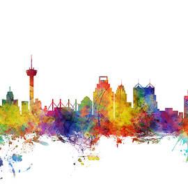 Michael Tompsett - San Antonio Texas Skyline