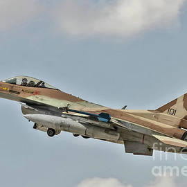 Idf/af F-16c Barak - Blue Flag 2017 by Amos Dor