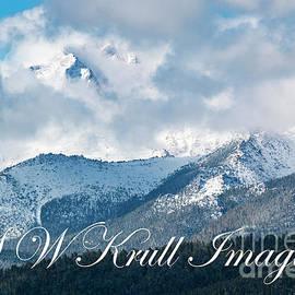 Storm Clouds On Pikes Peak by Steve Krull
