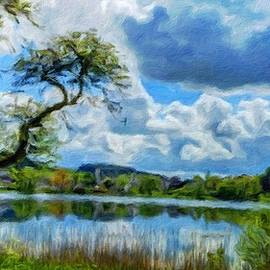 Margaret J Rocha - Nature Oil Canvas Landscape