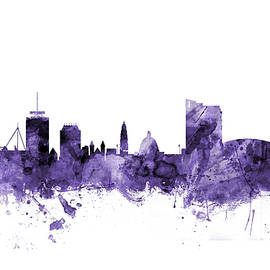 Cardiff Wales Skyline - Michael Tompsett