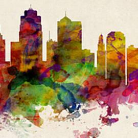 Kansas City Skyline - Michael Tompsett