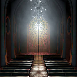 Stained Glass Window Church - Allan Swart