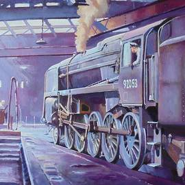 9F on shed. - Mike Jeffries