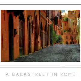 Mike Nellums - A Backstreet in Rome poster